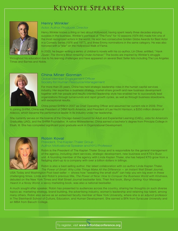 2010 HR Florida Brochure