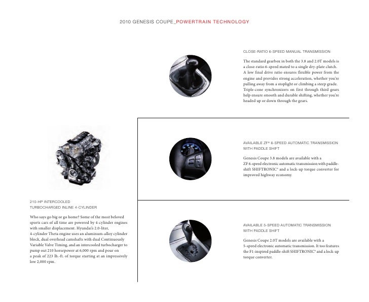 2010 hyundai genesis coupe brochure fred beans hyundai