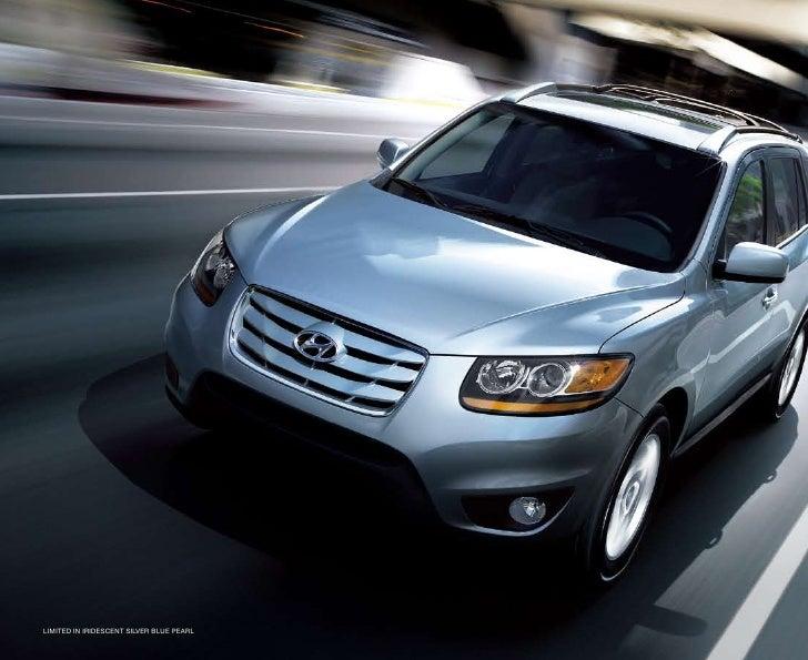 2010 Hyundai Santa Fe Brochure Universal Hyundai Orlando FL