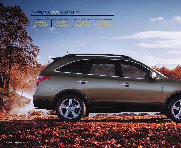2010 Hyundai Veracruz Brochure Universal Hyundai Orlando FL