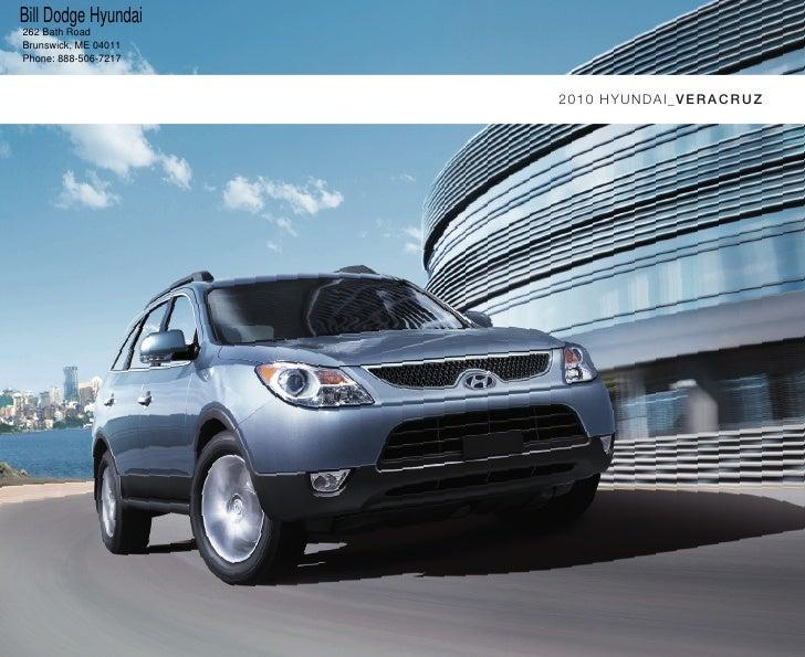 2010 Hyundai Veracruz Portland Maine