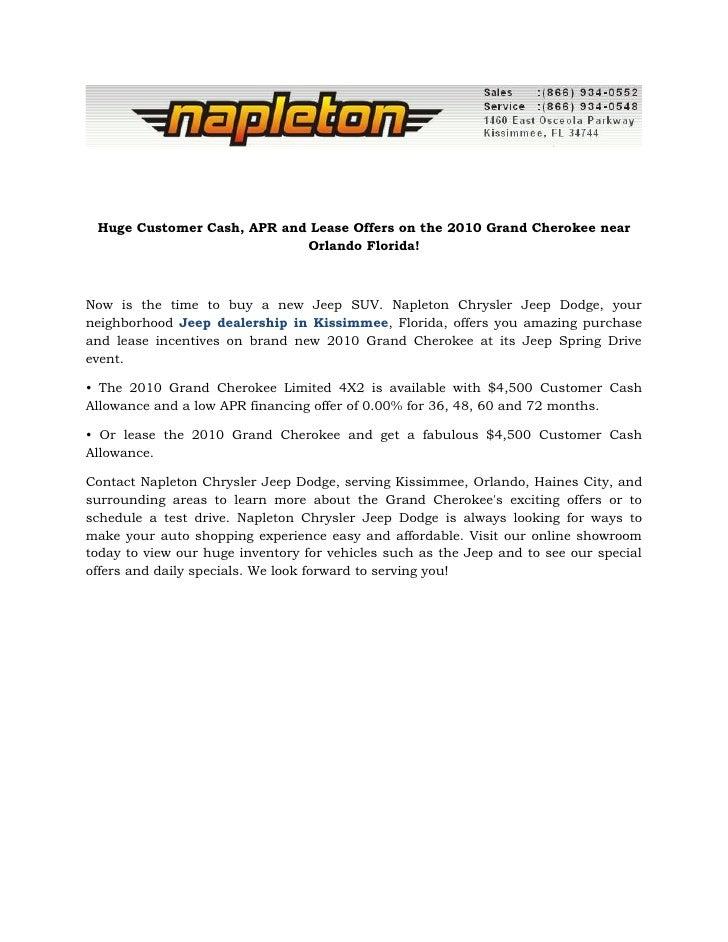 2010 jeep grand cherokee orlando, fl