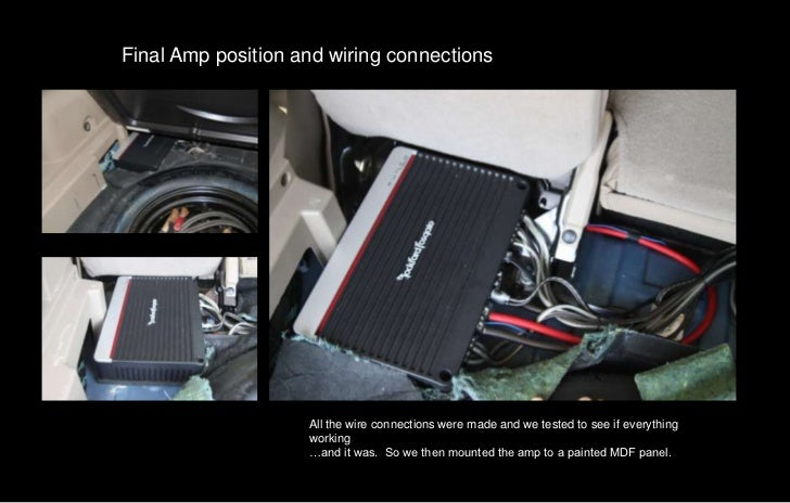 2010 jeep patriot installation with quicktime control – Jeep Patriot Speaker Wiring