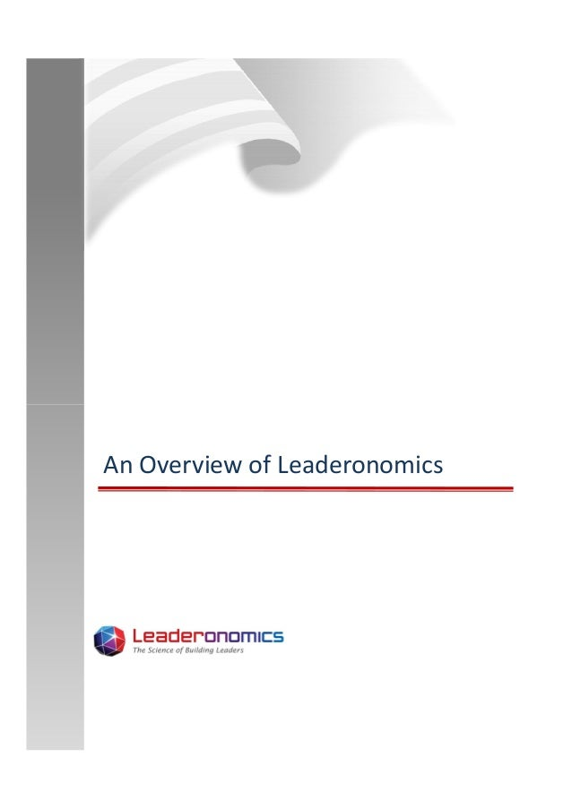 An Overview of Leaderonomics