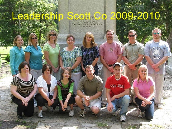 Leadership Scott Co 2009-2010