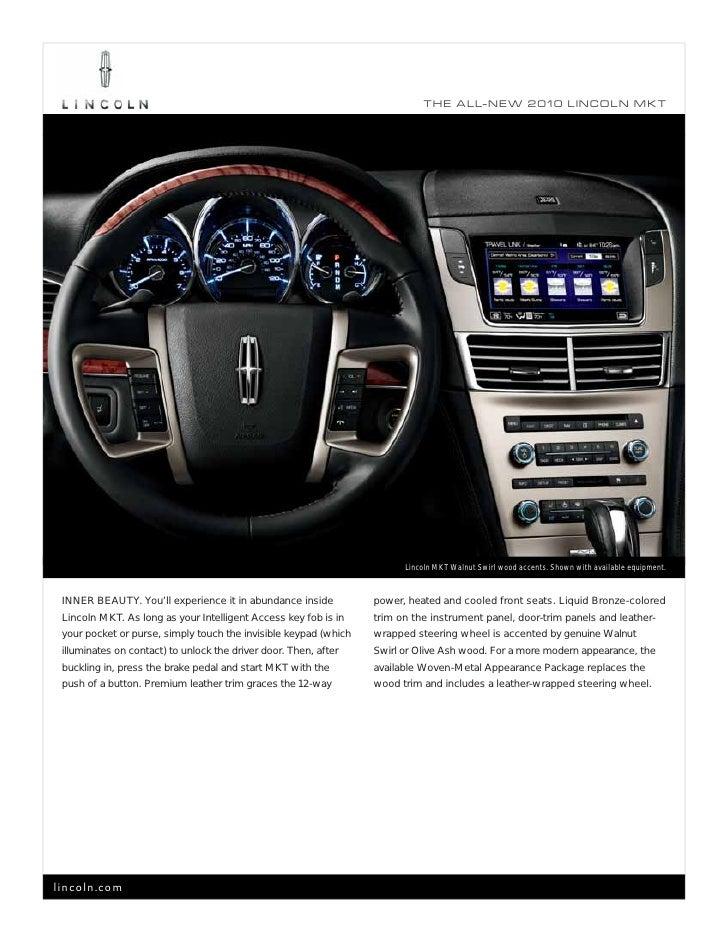 33ed036dc6e 2010 Lincoln MKT Brochure