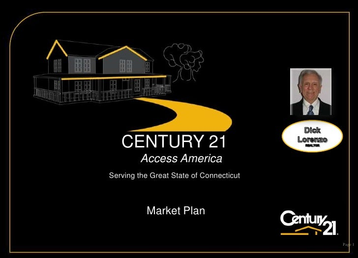 Dick Lorenzo REALTOR<br />CENTURY 21                      Access America                             <br />Serving the Gre...