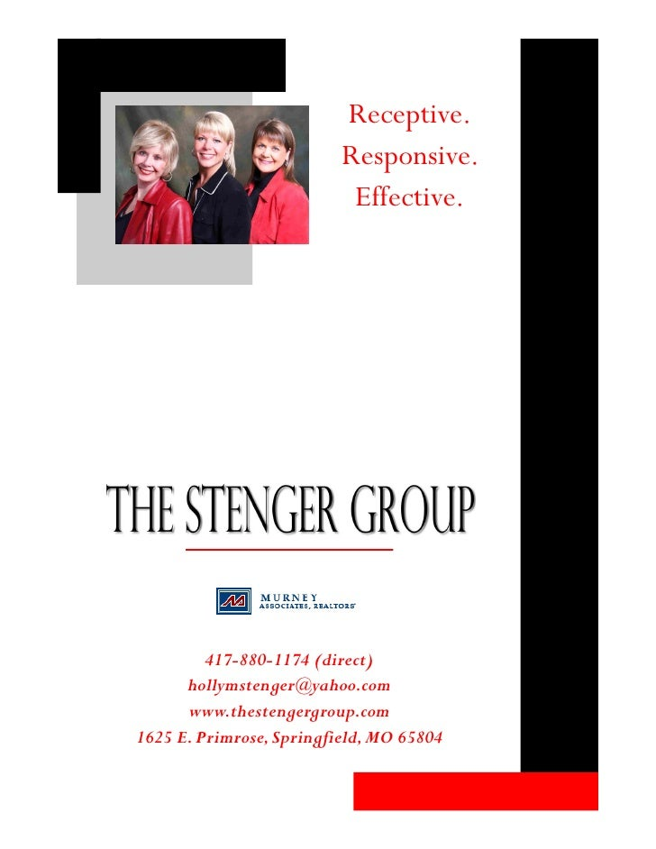 Receptive.                           Responsive.                            Effective.              417-880-1174 (direct) ...
