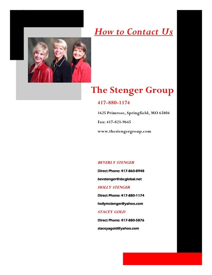 How The Stenger Group Can Help You