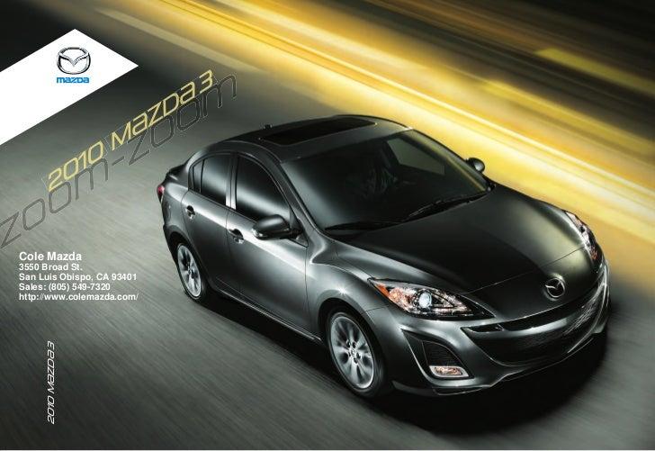 3                         {                      {ZD                     m              10            20   Cole Mazda 3550...