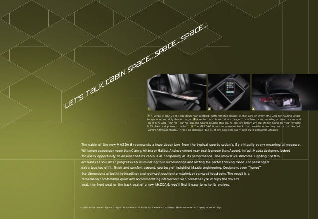 Cardinaleway mazda 2010 mazda6 brochure for Mazda motor of america inc