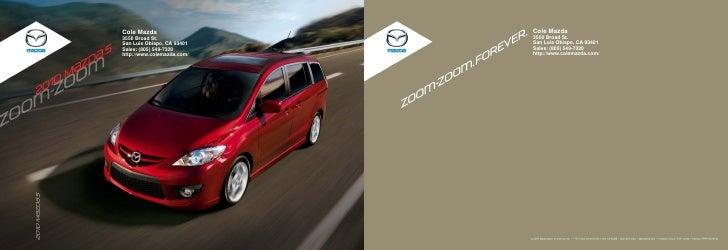 Cole Mazda Cole Mazda 3550 Broad St. 3550 Broad St. San Luis Obispo, ...