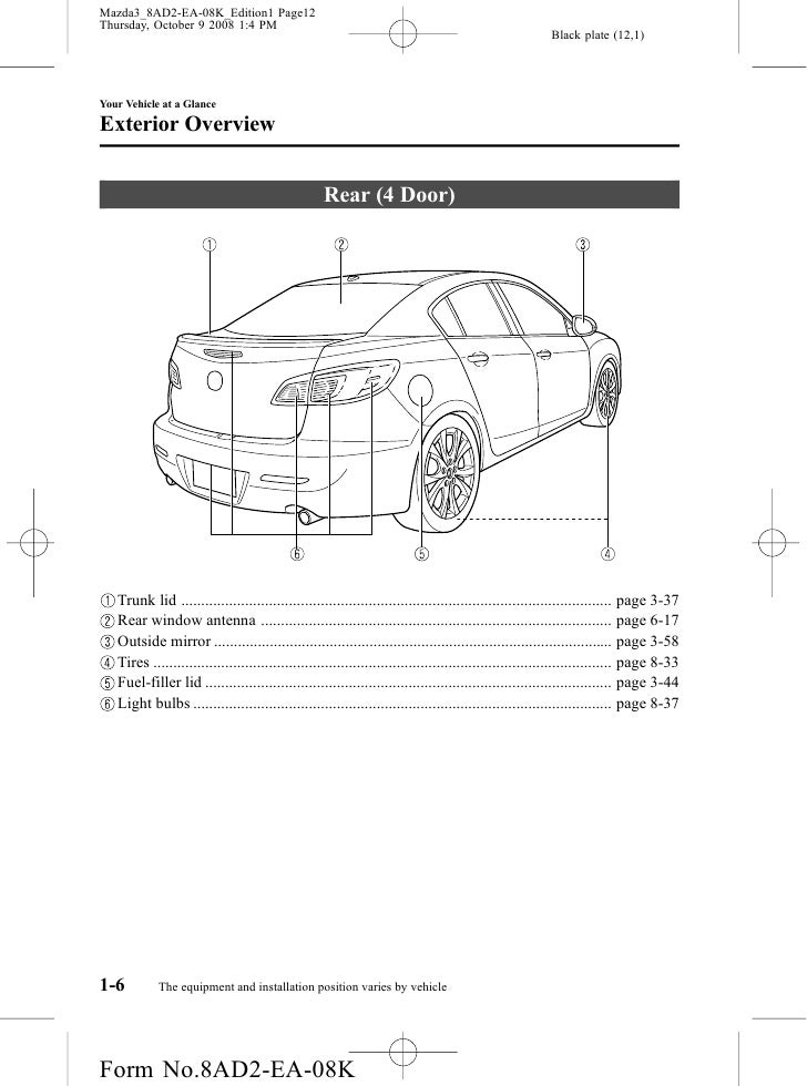 2010 Mazda 3 Wiring Harness Diagram : Mazda wiring diagram circuit must