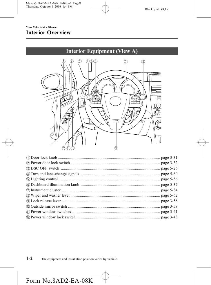 2010 mazda mazda3 om installation position varies by vehicle 8 asfbconference2016 Choice Image