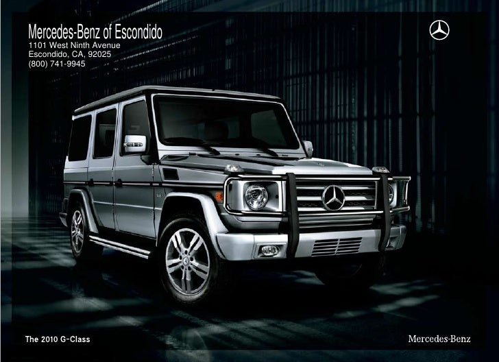 Mercedes Benz Of Escondido 1101 West Ninth Avenue Escondido, CA, ...