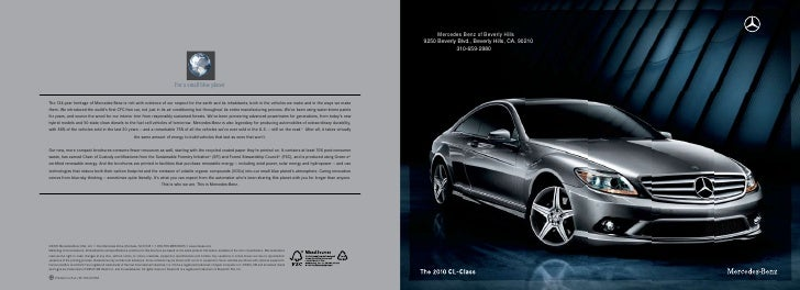 Mercedes Benz of Beverly Hills 9250 Beverly Blvd., Beverly Hills, CA, 90210             310-659-2980