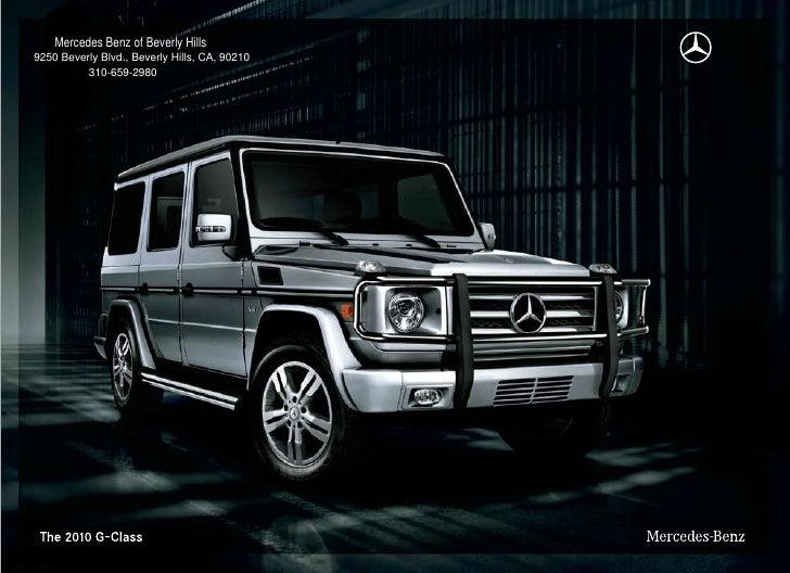Mercedes Benz Of Beverly Hills 9250 Beverly Blvd., Beverly Hills, CA, ...