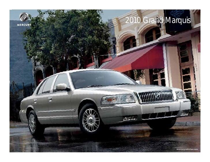 Mercury Grand Marquis Brochure