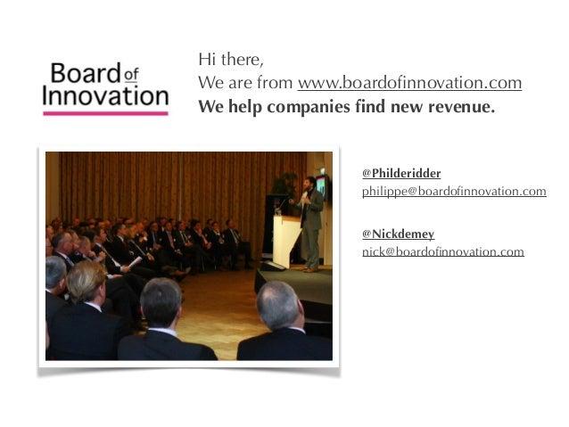 10 business models that rocked - by @nickdemey @boardofinno (boardofinnovation.com) Slide 3