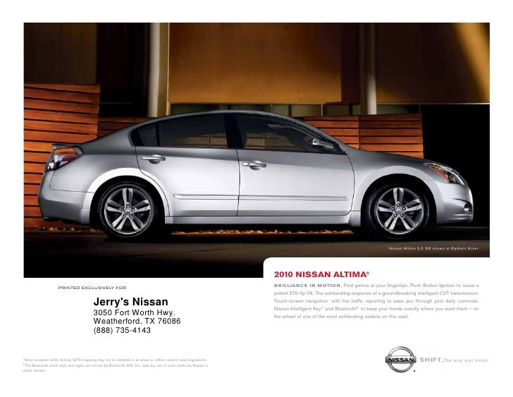 Nissan Altima 3.5 SR shown in Radiant Silver.                                                                             ...