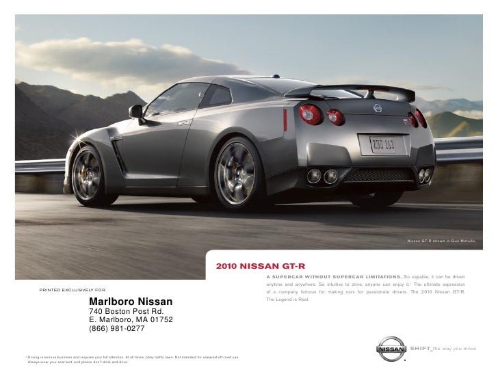 Nissan GT-R shown in Gun Metallic.                                                                                        ...