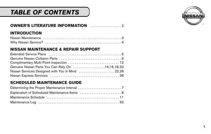 2010 n smg rh slideshare net nissan service and maintenance guide 2014 nissan service and maintenance guide 2013