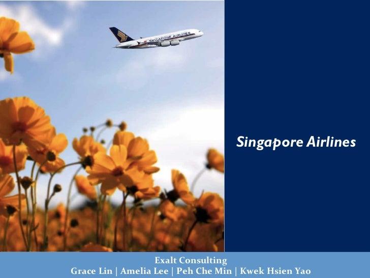 Pictures                                            Singapore Airlines                               Exalt Consulting...
