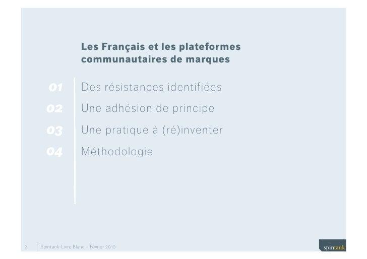 Les Francais et les plateformes communautaires de marques Slide 2