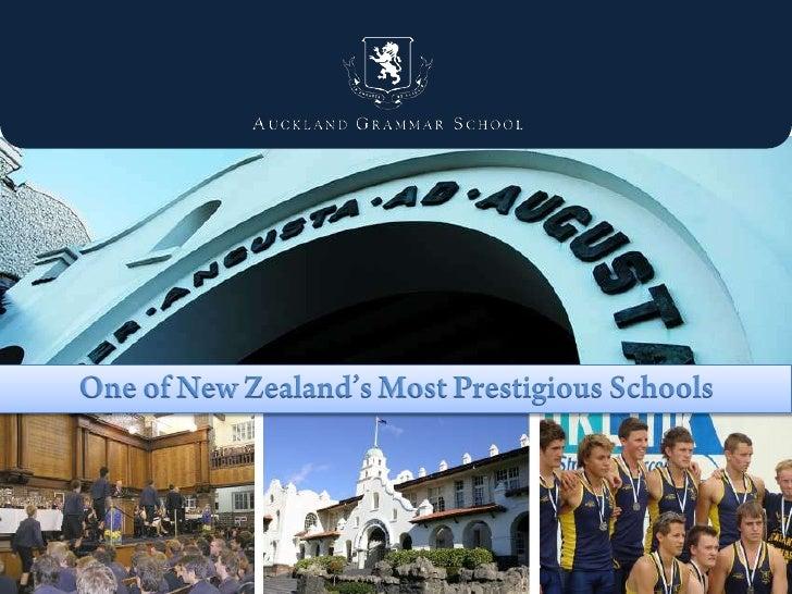 One of New Zealand's Most Prestigious Schools<br />