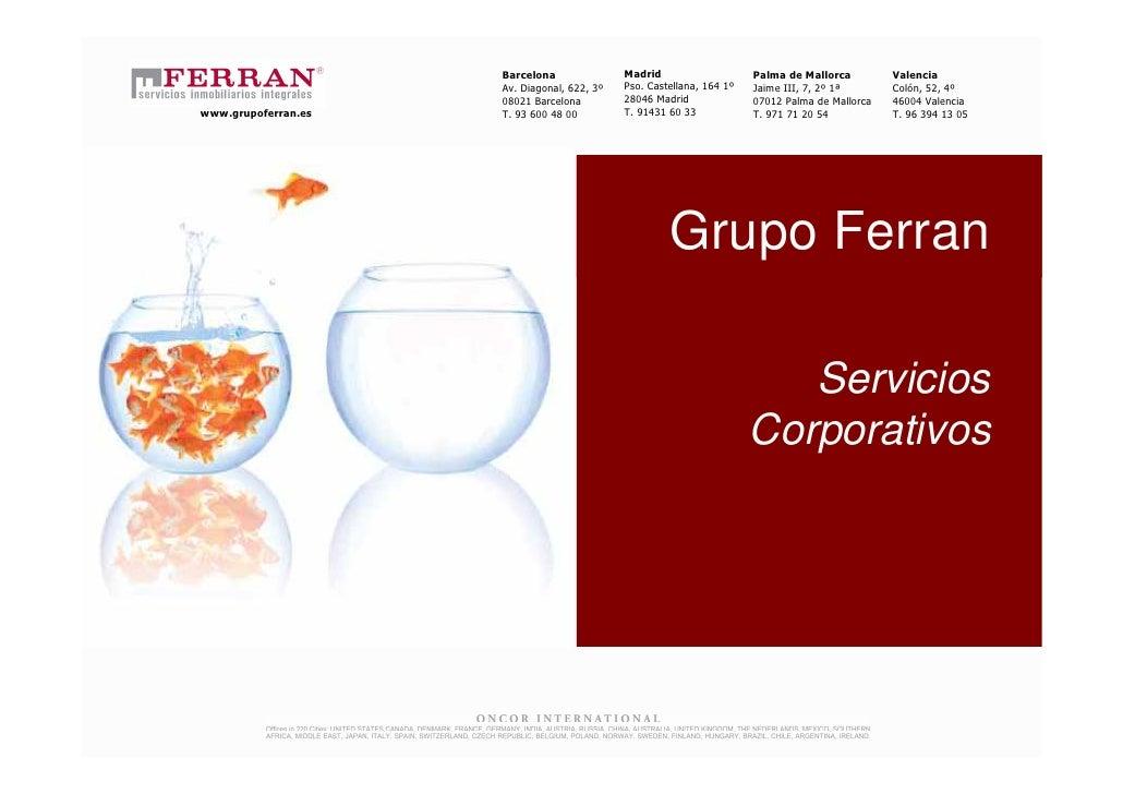 2010 PresentacióN Servicios Corporativos