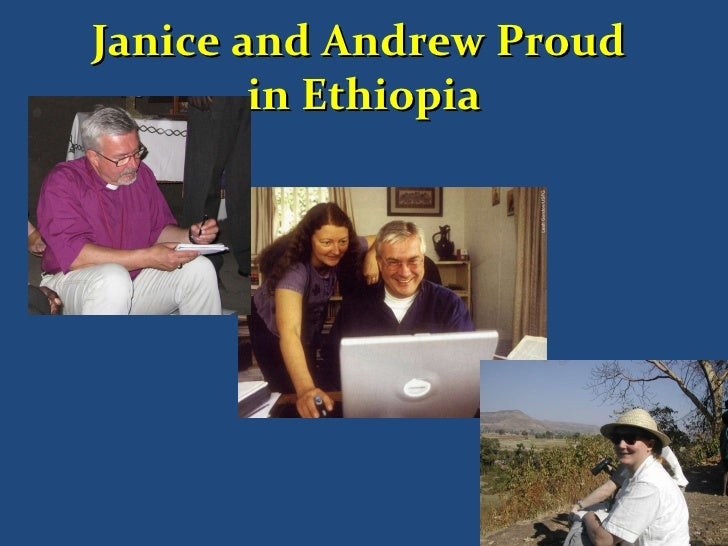Janice and Andrew Proud  in Ethiopia