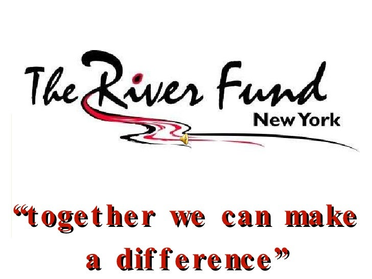 """"""" together we can make a difference"""""""