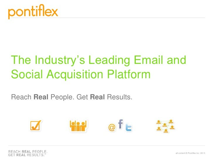 The Industry's Leading Email and Social Acquisition PlatformReach Real People. Get Real Results.<br />
