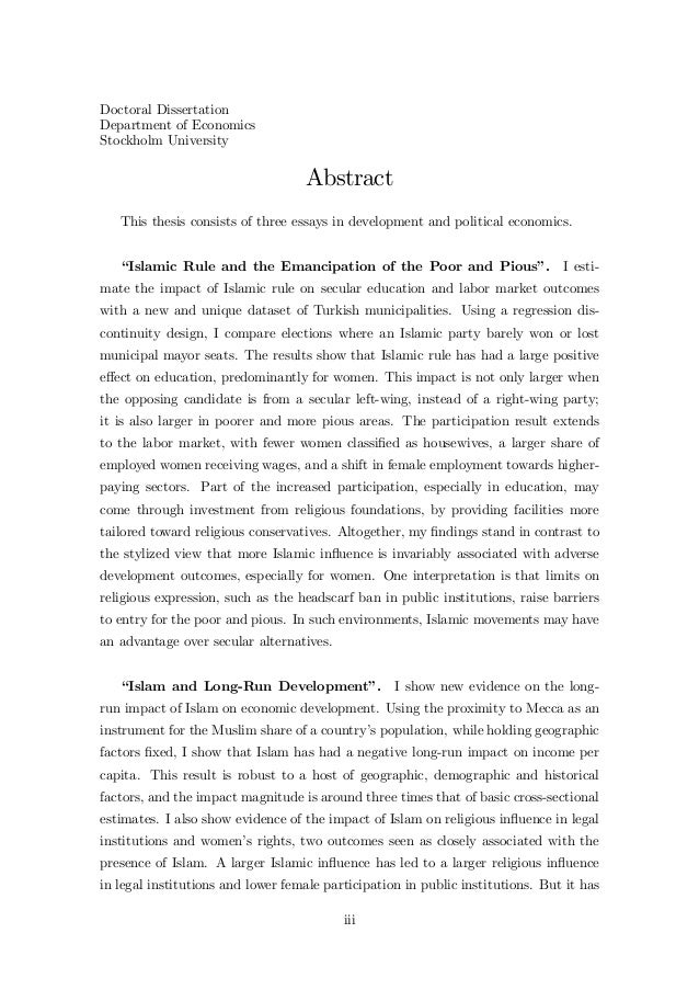 thesis on religion and politics