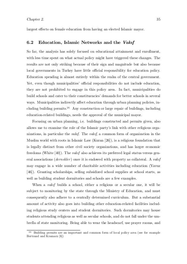 Female education essay