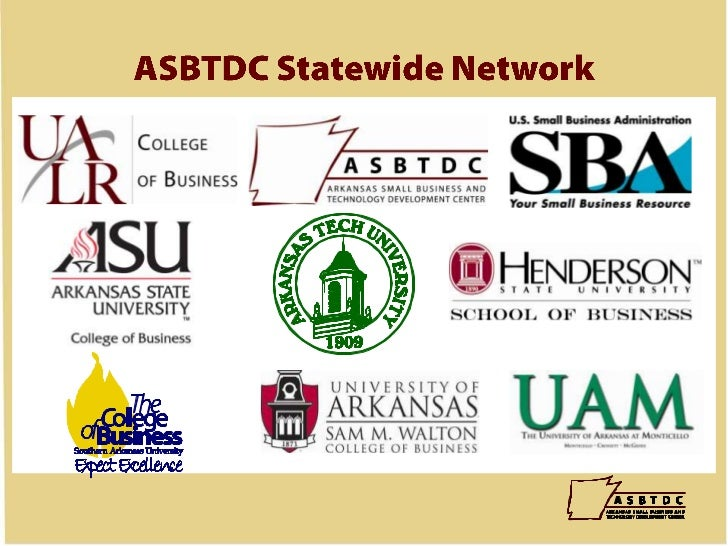 ASBTDC Statewide Network<br />