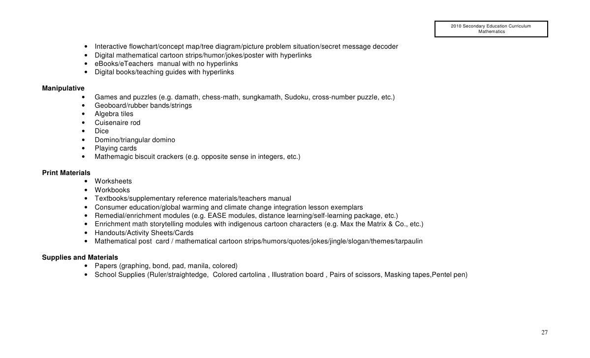 worksheet Central Tendency Worksheets 2010 sec yeariiicurriculumguidemathematics mathematical simulations 26 27