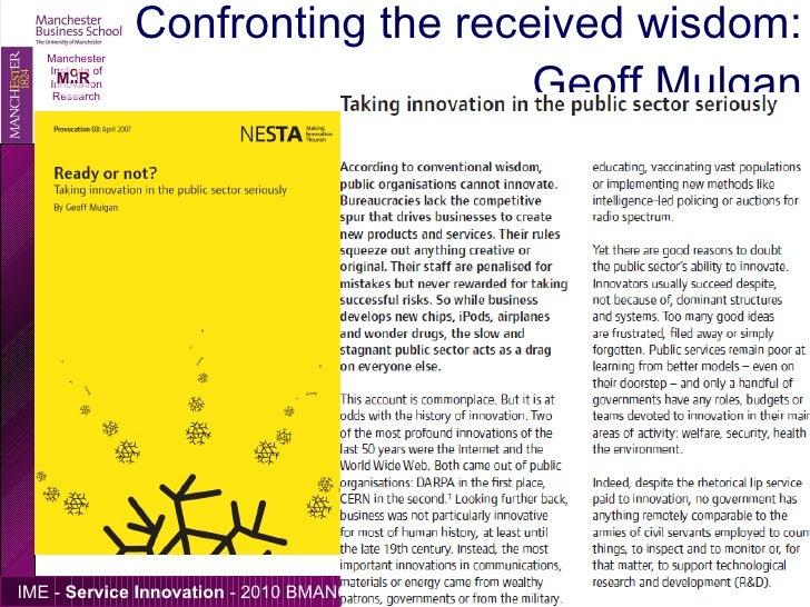 Patient service innovation essay