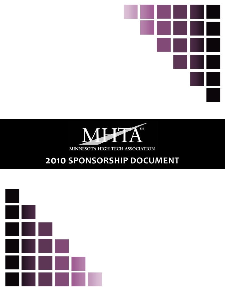 2010 SPONSORSHIP DOCUMENT