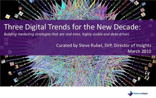Three Digital Trends for the New Decade:Building marketing strategies that are real-time, highly visible and data-drivenCu...