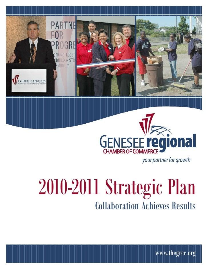 2010-2011 Strategic Plan         Collaboration Achieves Results                            www.thegrcc.org