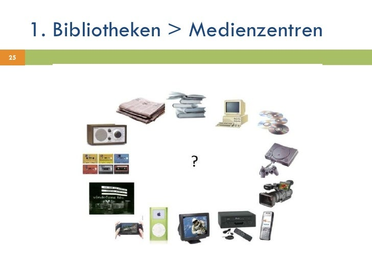 1. Bibliotheken > Medienzentren