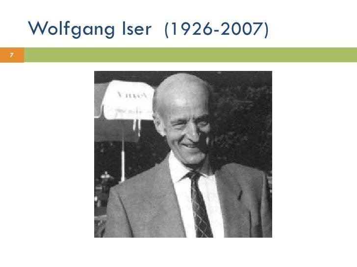 Wolfgang Iser  (1926-2007)