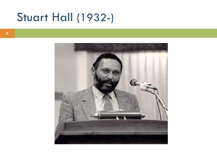 Stuart Hall  (1932-)