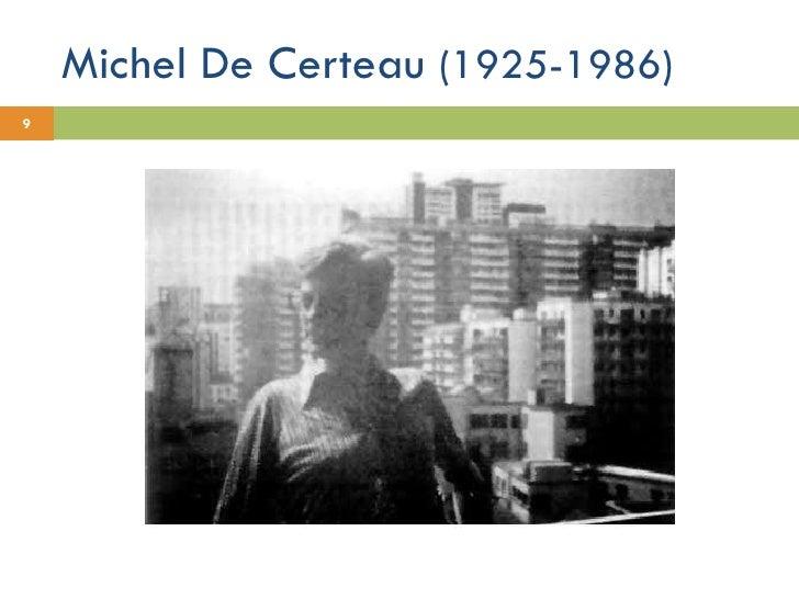 Michel De Certeau  (1925-1986)