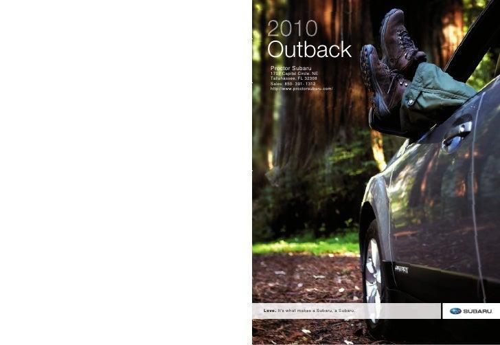 Used Subaru Outback - Proctor Subaru Panama City FL