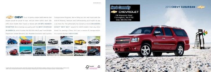 Herb Connolly Chevy >> 2010 Chevrolet Suburban Herb Connolly Boston Ma