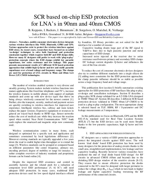 "cmos lna design techniques ""exploiting cmos reverse interconnect scaling in multigigahertz amplifier and oscillator design"", bkleveland, chdiaz etal, jssc, oct 2001 analog vlsi lab."