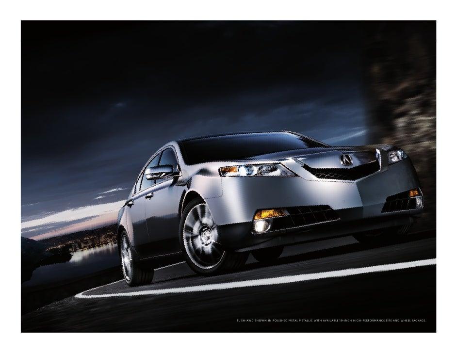 2010 Acura Tl Brochure Dch Acura Of Temecula