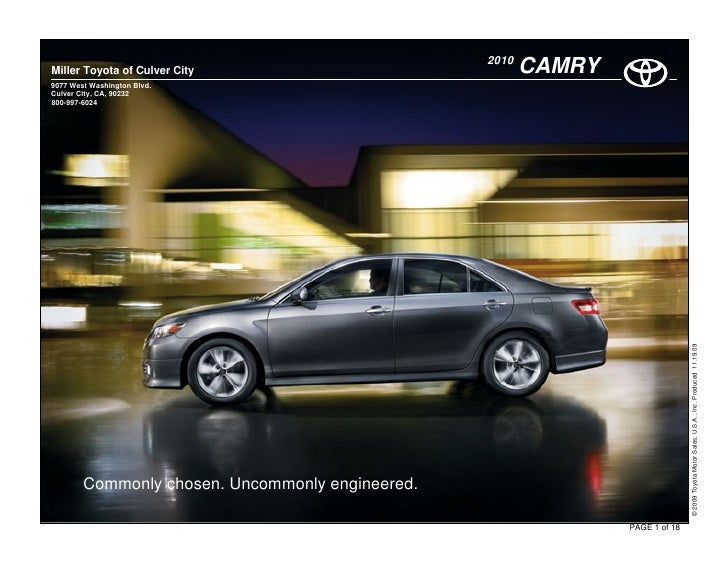 2009 Toyota Camry Sedan  LE SE XLE Owners Manual 09 Free Shipping to the USA